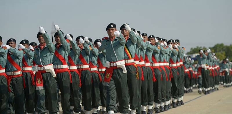 Passing out parade of Punjab Rangers training course 29 held: ISPR