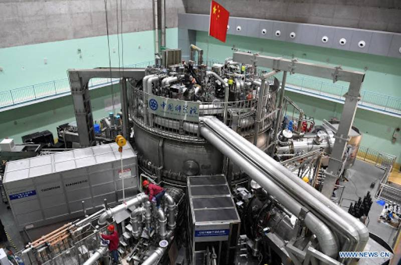 China's artificial sun sets new world record