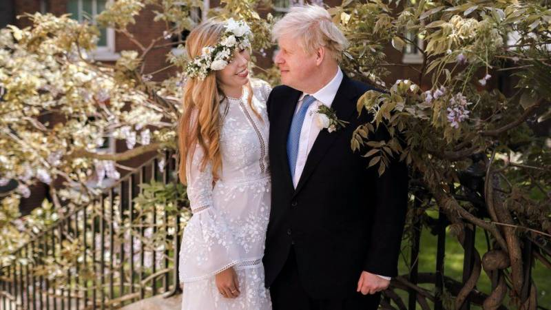 British PM Boris Johnson marries fiancée in secret ceremony