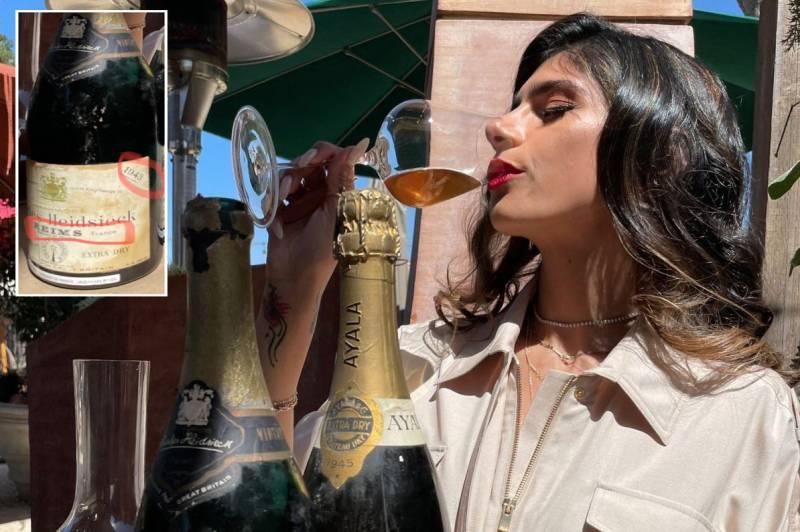 Mia Khalifa mocks Israel by posing with 'Nazi wine older than the apartheid state'