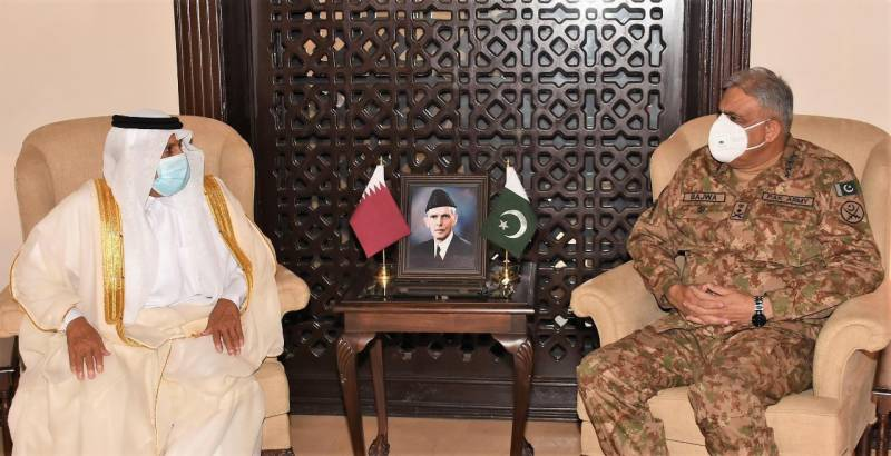 COAS Bajwa hails Qatar's support to Pakistan