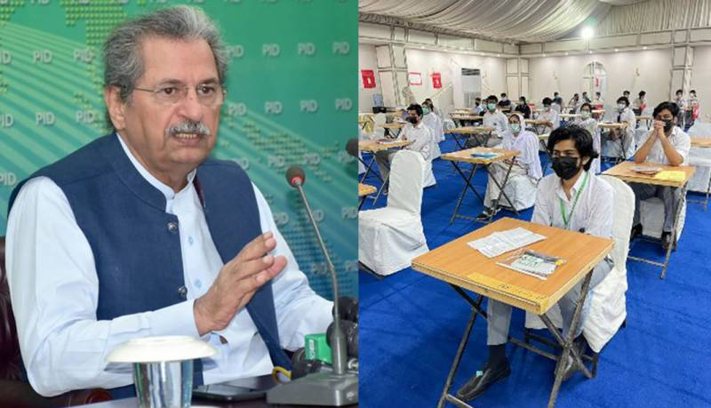 Matric, intermediate exams to be held only for elective subjects in July: Shafqat Mahmood