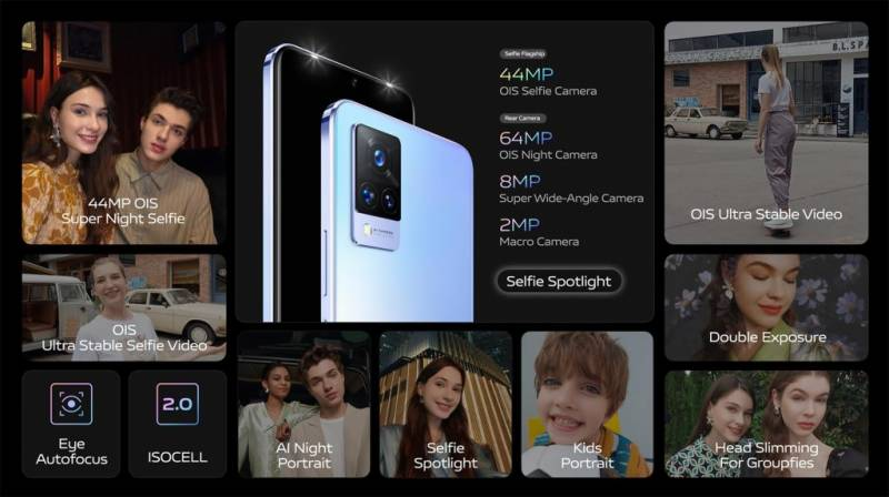 vivo introduces V21 with 44MP OIS Night Selfie System – Sleek Design Perfect Shot