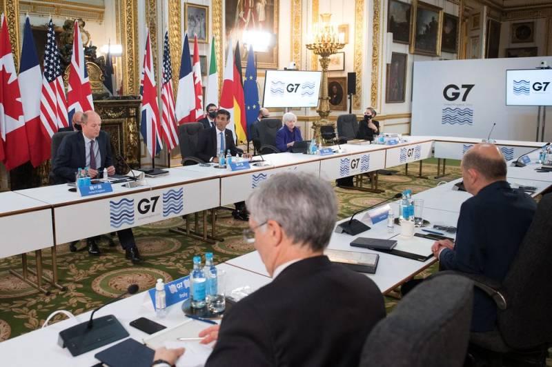 G7 countries reach deal to tax big companies