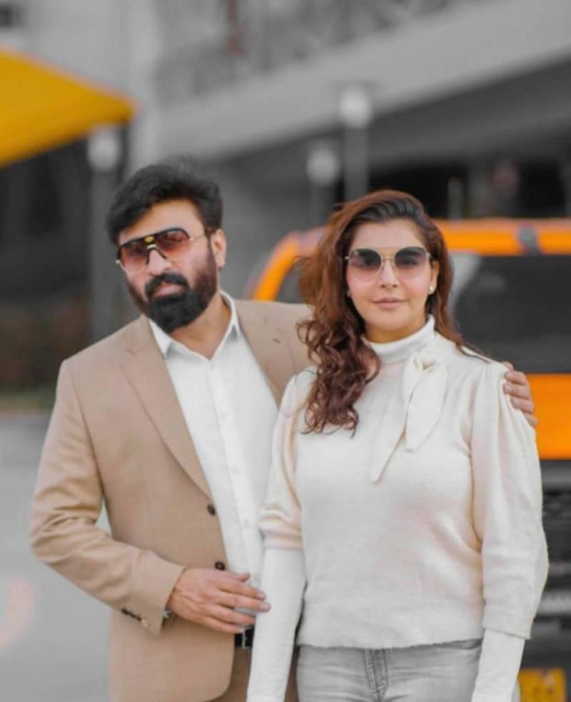 Yasir Nawaz and Nida Yasir spotted cruising in Turkey