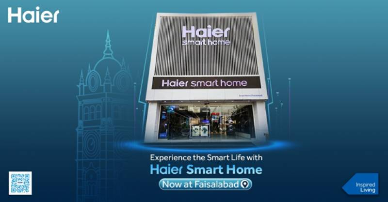 Haier Smart Home comes to Faisalabad!