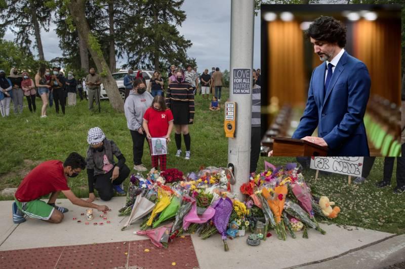 'Islamophobia is real': Canadian PM calls killing of Muslim family 'terrorist attack'