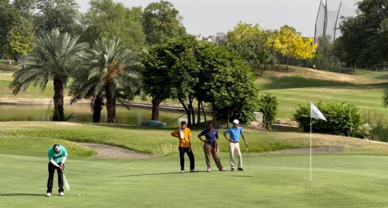 Aamir Khan on top in PGF Qualifying Golf Event