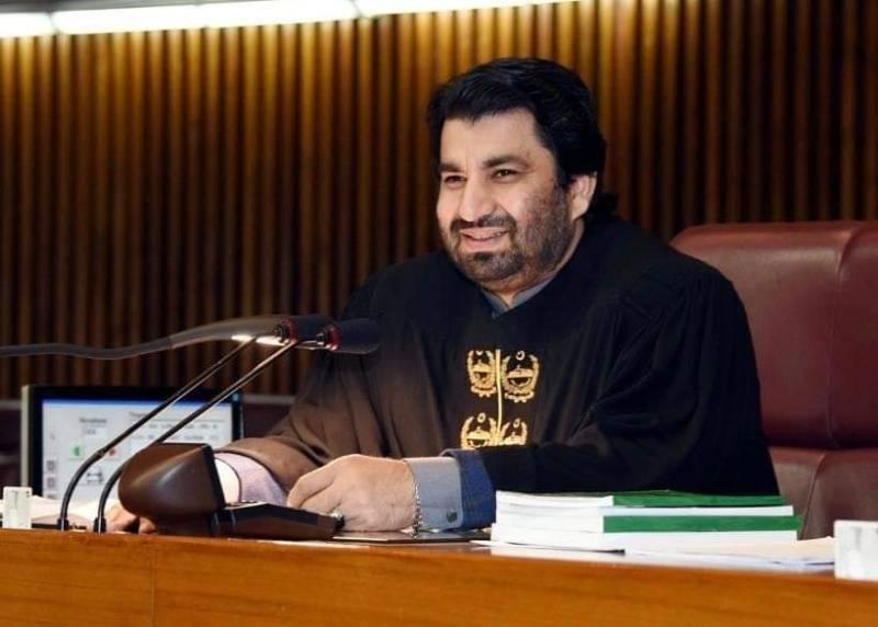No-confidence motion filed against NA Deputy Speaker Qasim Suri