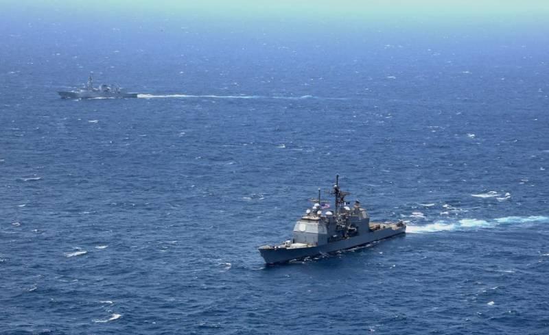 Pakistan, US navies take part in 'Passage Exercise'
