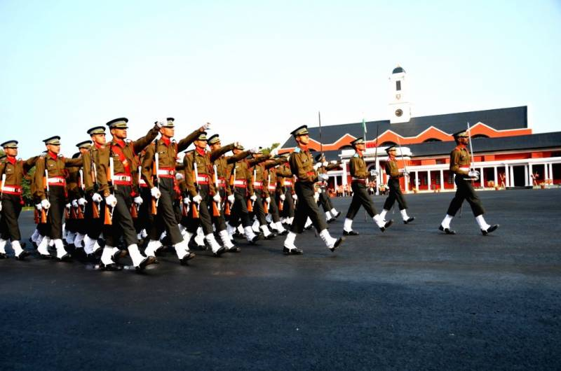 Poorly-trained cadets attack each other at Indian Military Academy