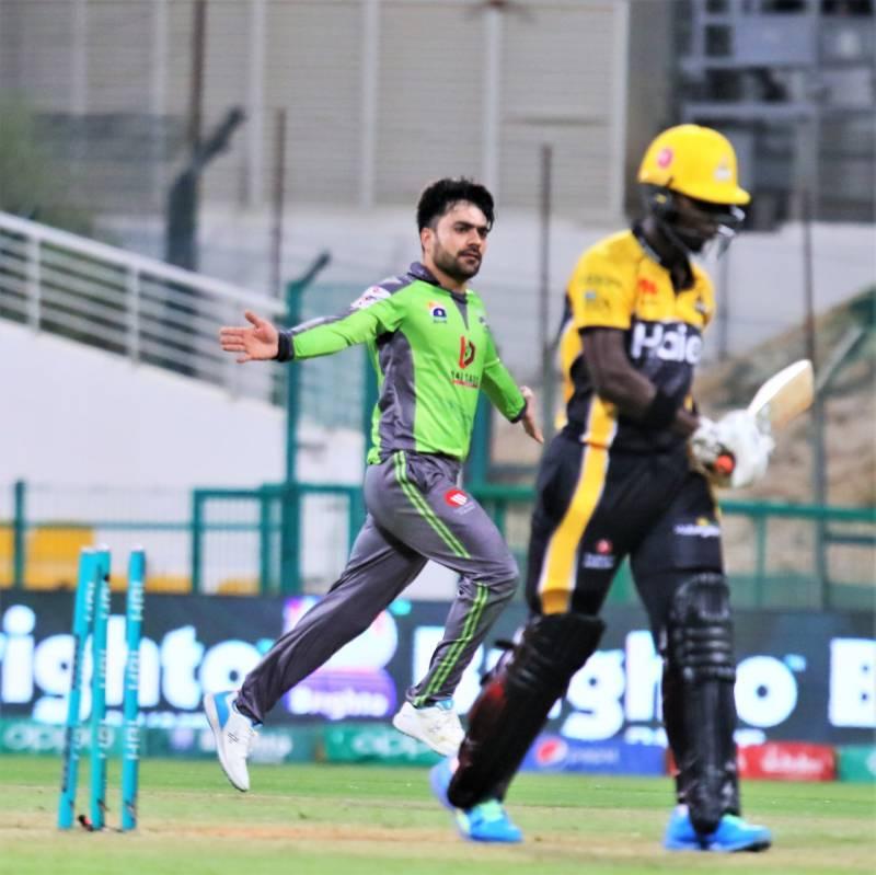 Rashid Khan bowls Lahore Qalandars to PSL6 victory over Peshawar Zalmi