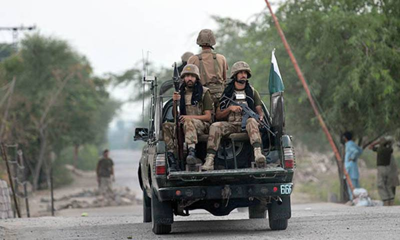 Soldier martyred, two terrorists gunned down in Kharan operation