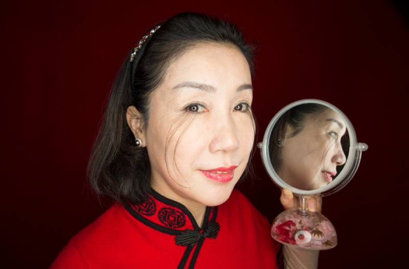 Chinese woman breaks own Guinness world record for the longest eyelash (VIDEO)