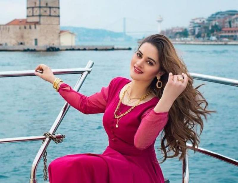 Aiman Khan launches her own fragrance