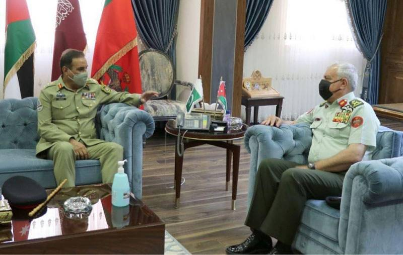 CJCSC calls on top Jordanian military brass, expresses desire to expand defence cooperation