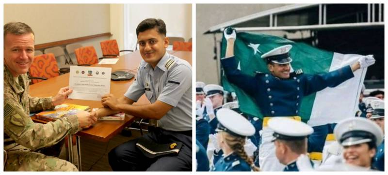 Shahrukh Khan becomes the only Pakistani cadet to graduate from US Air Force Academy in 2021