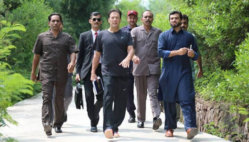 'Busy' PM Imran will fly back to Islamabad today after two-day vacation in Nathia Gali