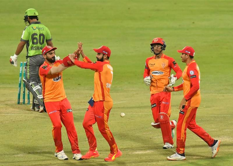 PSL 2021 – Islamabad United beat Lahore Qalandars in 20th match of tournament