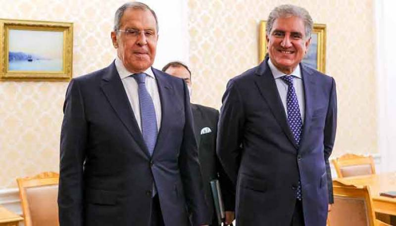 FM Qureshi, Russia's Lavrove emphasise on strong Islamabad-Moscow ties
