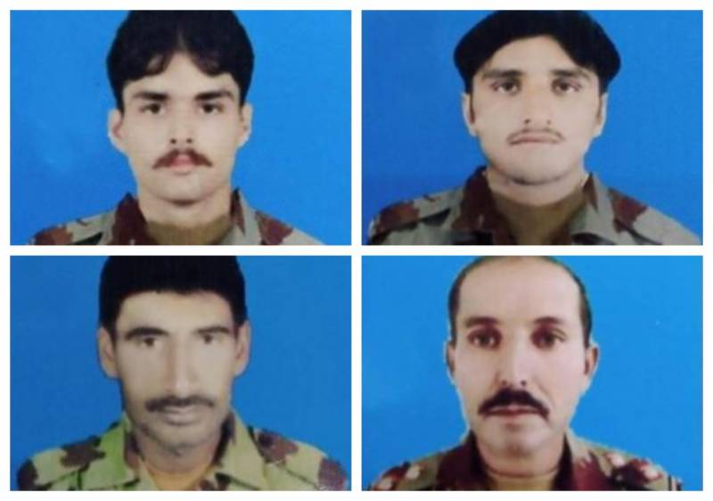 Four FC troops martyred in Quetta IED blast