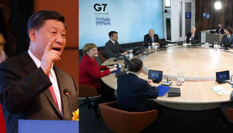 China rubbishes G7 criticism, says 'small' group can't decide world's fate anymore