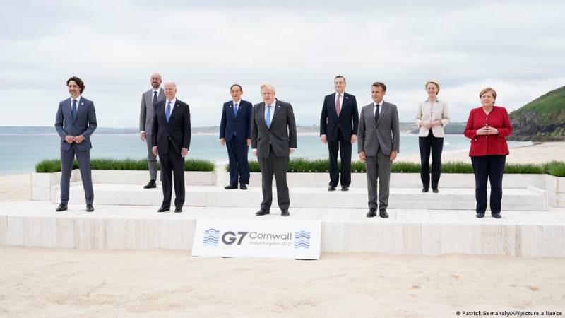 China alleges 'political manipulation' as G7 leaders discuss BRI alternative