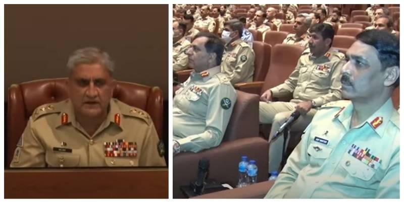 Bajwa tells troops to maintain high standards of preparedness along LOC, Pak-Afghan border