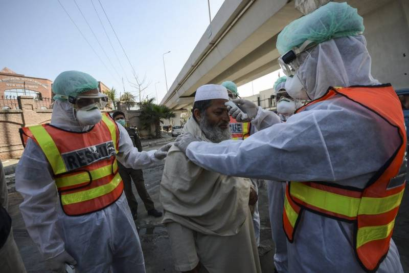 Pakistan reports lowest single day Covid-19 cases since October