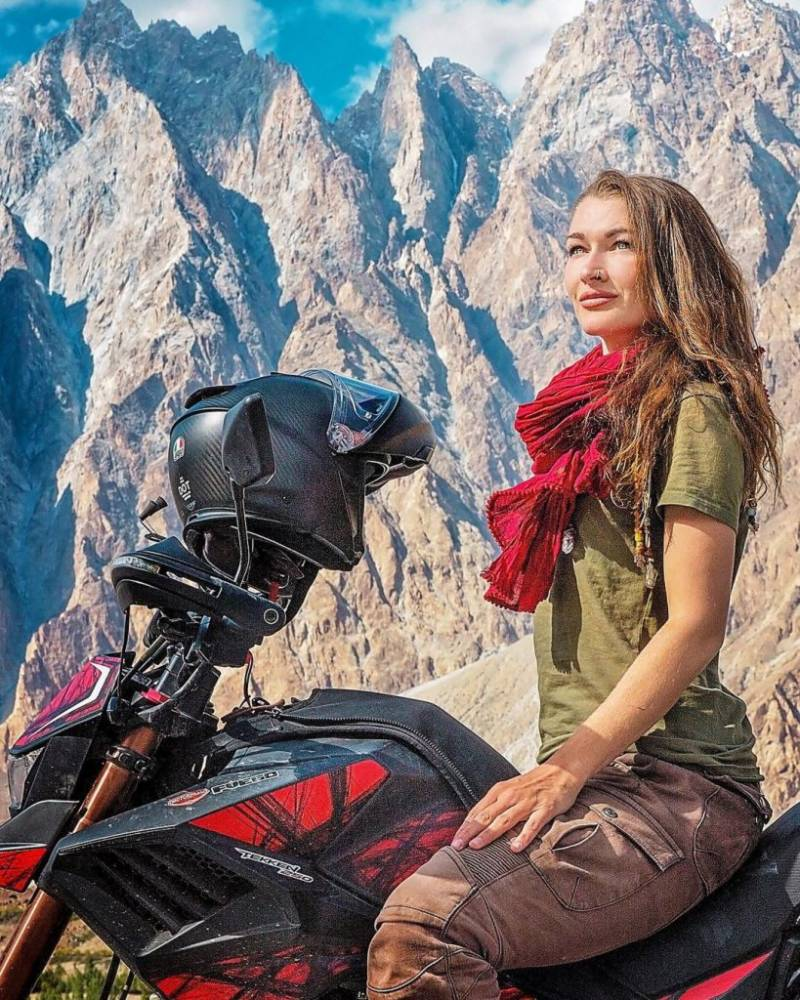 Rosie Gabrielle says reckless tourists are destroying Hunza