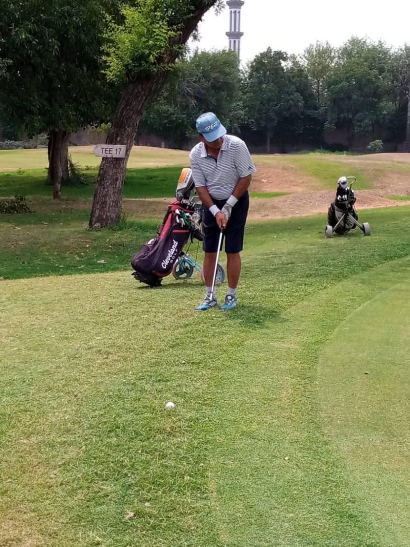 Irfan takes lead in senior section of PGF Qualifying School Golf 2021