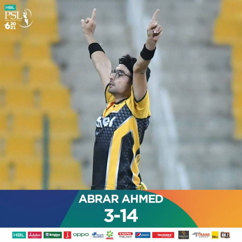 PSL 2021: Poor Karachi Kings crumble against Peshawar Zalmi in 24th match