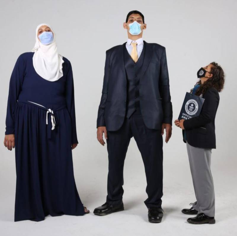 Egyptian siblings earn 5 Guinness World Records including largest feet and hands