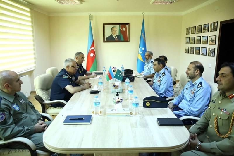 PAF delegation meets Azerbaijan's top air force commander