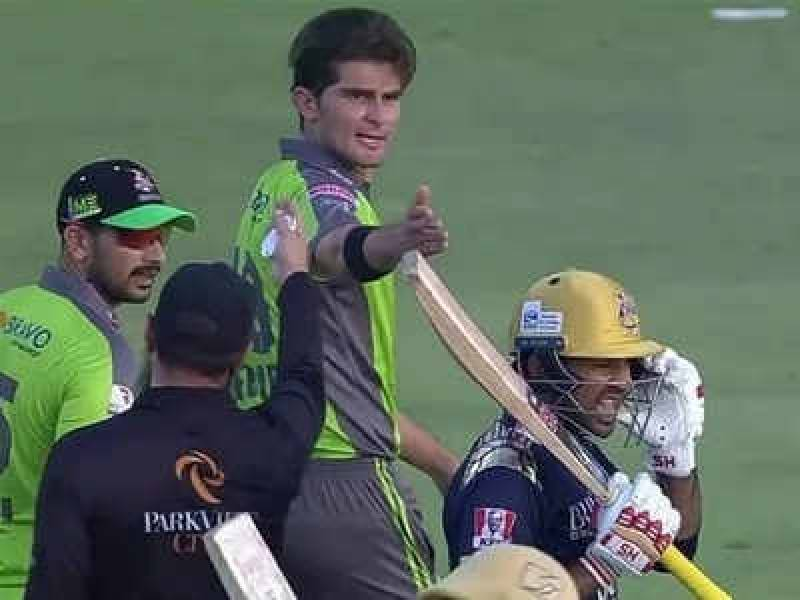 Shaheen Afridi regrets heated exchange with Sarfraz Ahmed in PSL 2021 game