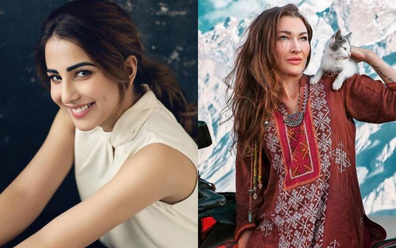 Ushna Shah slams vlogger Rosie Gabrielle over Hunza photos