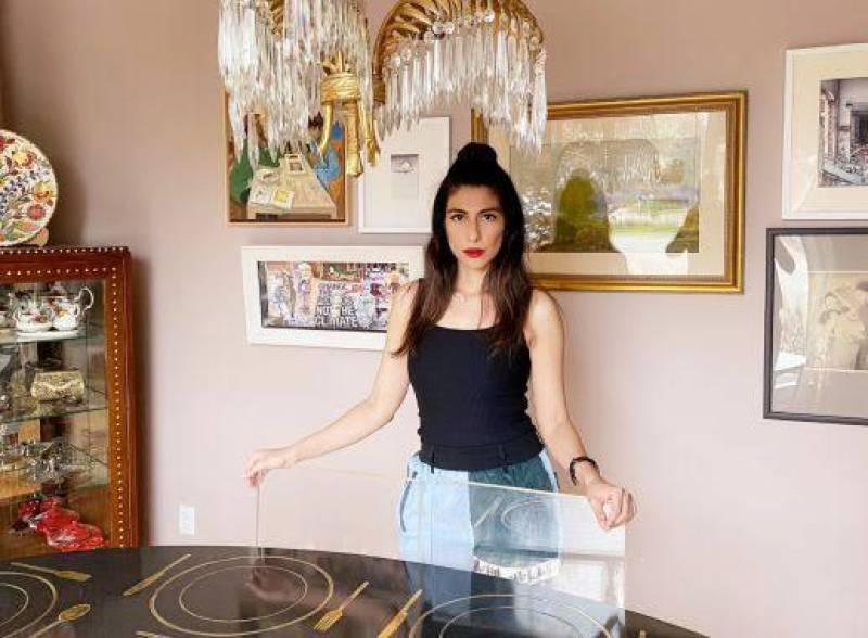 Take a tour of Meesha Shafi's Canadian bungaloft