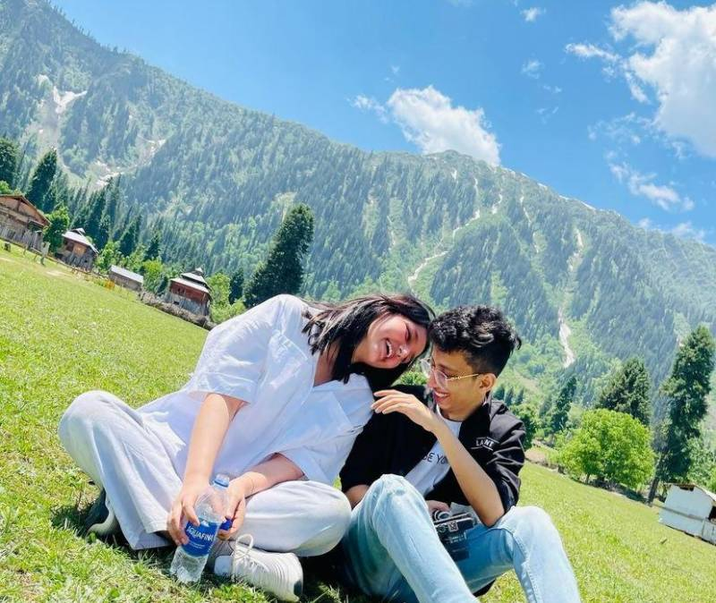 Nimra & Asad – Pakistan's loved couple give major holiday goals in latest snaps