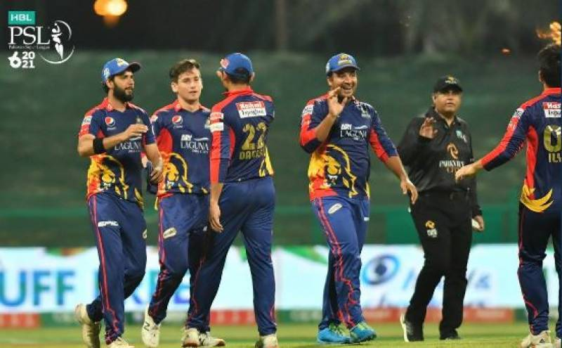 PSL 2021 – Karachi Kings beat Lahore Qalandars to stay in the league