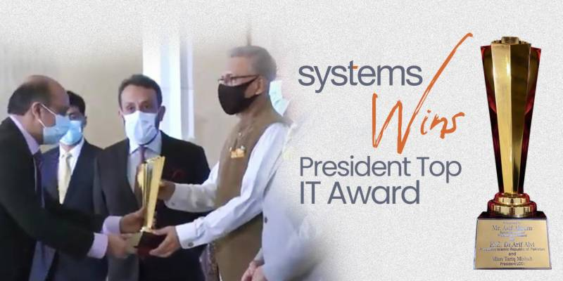 Systems Limited wins Lahore Chamber Of Commerce & Industry IT Award 2021