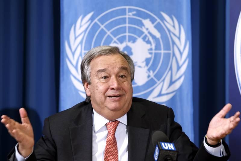 Antonio Guterres re-elected as UN chief for the second term