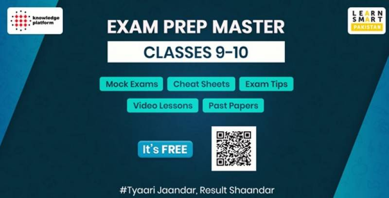 Matric students to prepare board exams through Exam Prep Master launched by Knowledge Platform