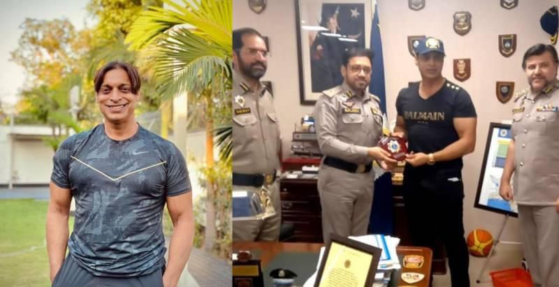 Shoaib Akhtar made Motorway Police's Ambassador