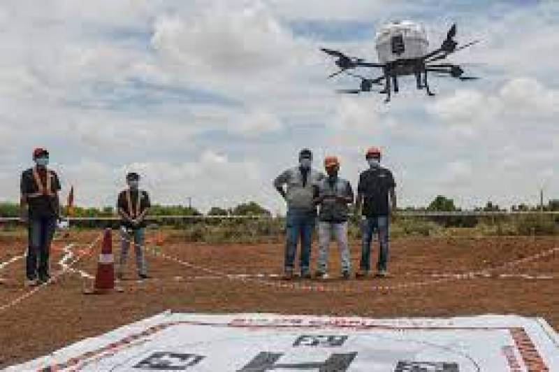 India tests long range drone flights for Covid-19 vaccine delivery