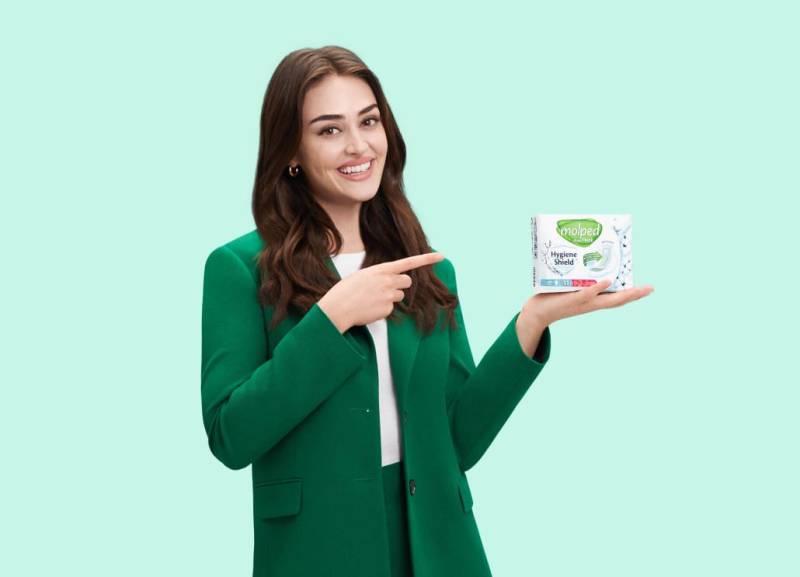 Molped announces Turkish actress Esra Bilgiç as brand ambassador!