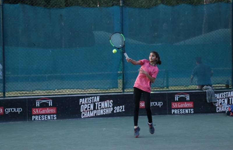 20 more matches decided in 2nd Tennis Lovers Punjab Open Tennis Championship