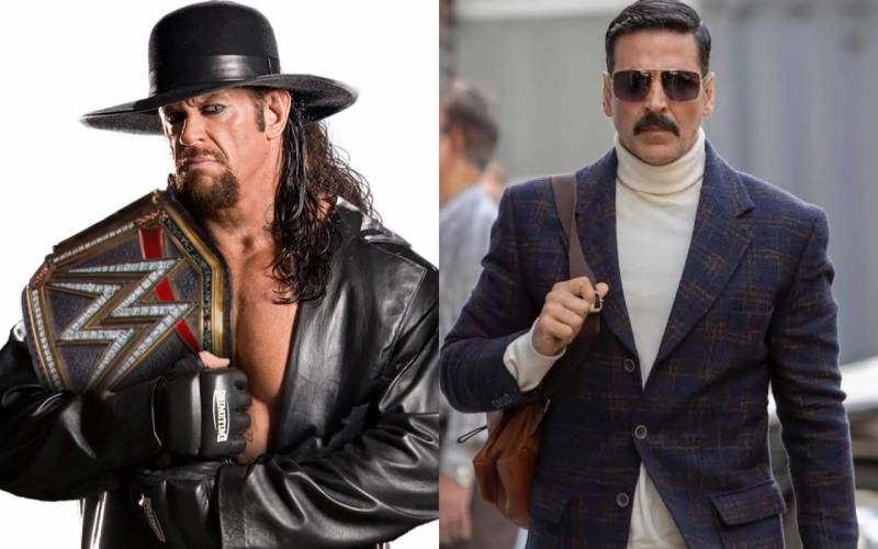 The Undertaker challenges Akshay Kumar to a 'real match'