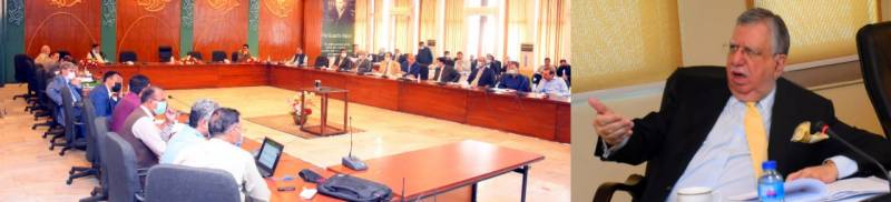 Tarin chairs meeting of Cabinet Committee on Privatization