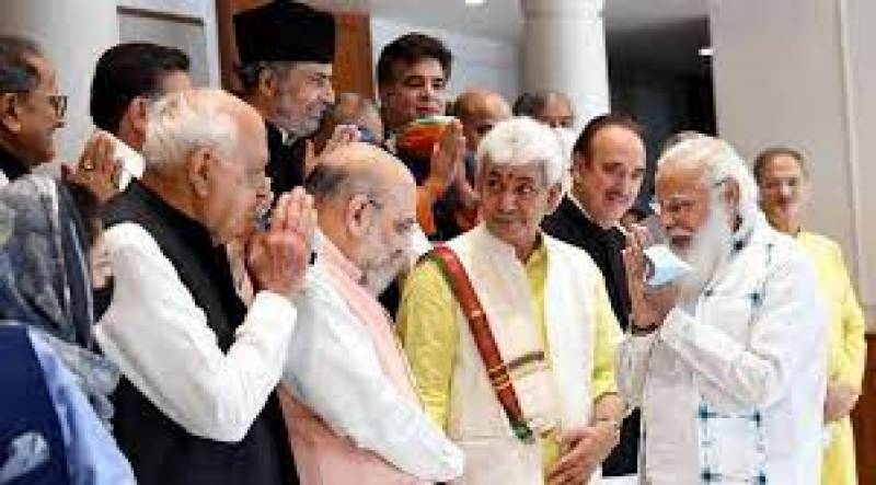 Modi meets selective leaders from Indian-occupied Jammu and Kashmir