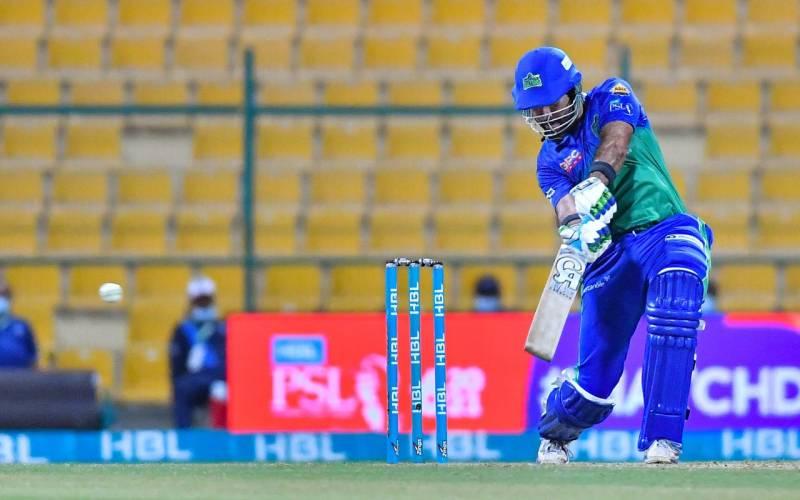 PSL 6 final: Multan Sultans set strong target of 207 runs for Peshawar Zalmi